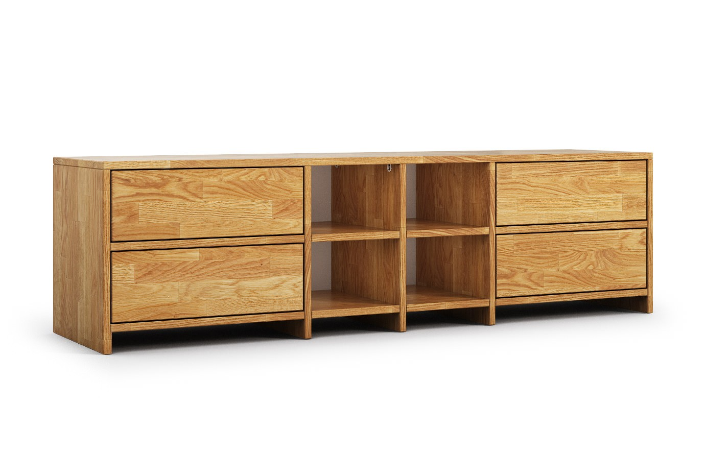 krems in eiche rustikal hifi sideboard nach ma. Black Bedroom Furniture Sets. Home Design Ideas