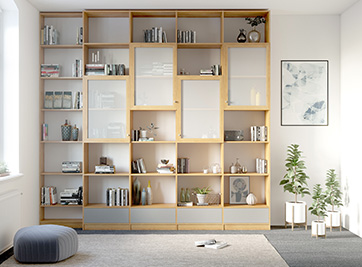 holzconnection regale nach ma at. Black Bedroom Furniture Sets. Home Design Ideas